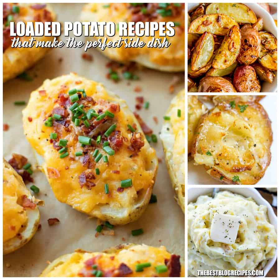 LOADED POTATO RECIPES