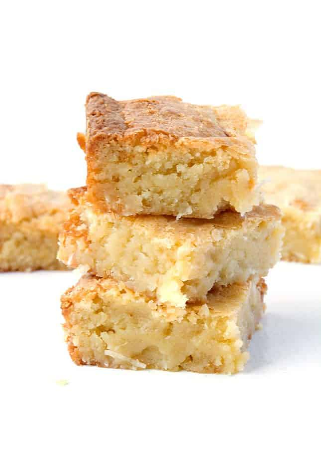 White Chocolate Coconut Brownies -- part of Easy Brownie Recipes for Every Occasion