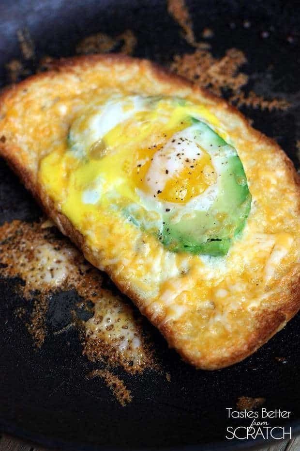 Avocado and Egg in a Hole - The Best Blog Recipes