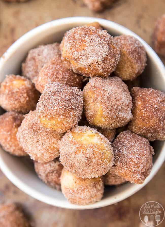 Cinnamon Sugar Soft Pretzel Bites The Best Blog Recipes