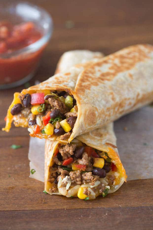 Crispy Southwest Wrap The Best Blog Recipes
