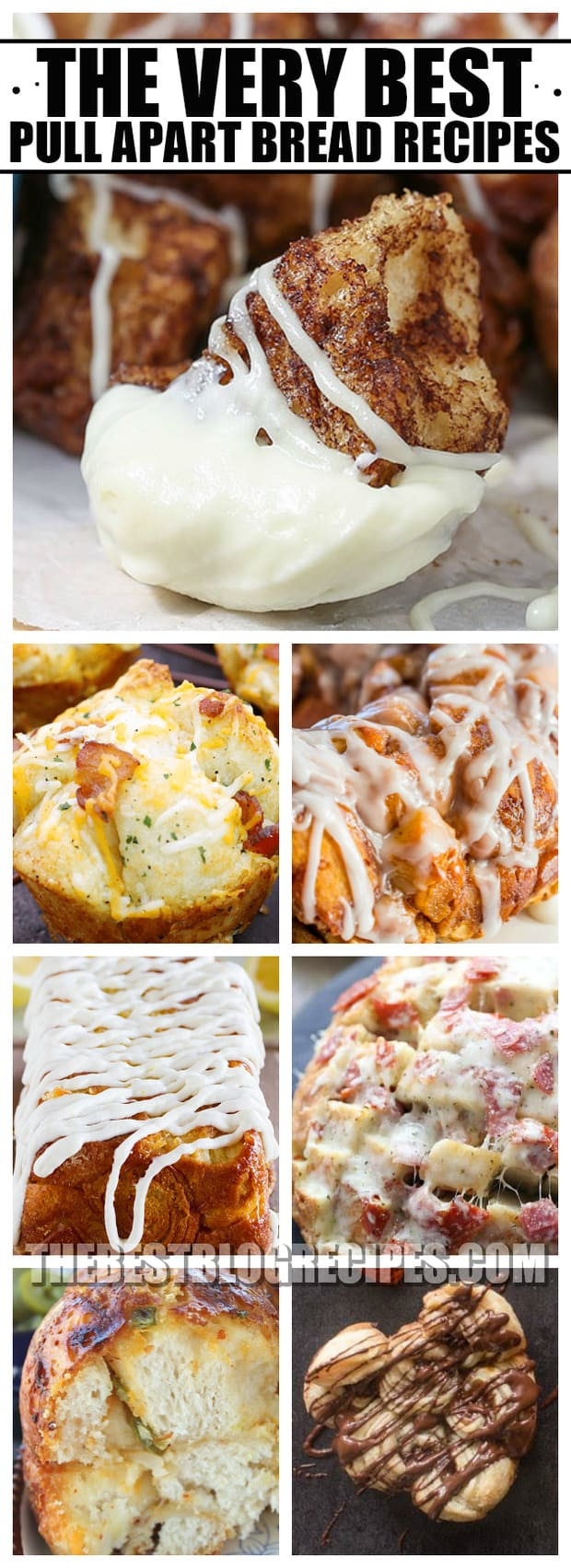 We are so excited to share The Best Pull Apart Bread Recipes because we know you will want to make them time and time again. With sweet and savory flavors to choose from, these breads are perfect for any and every yummy occasion!