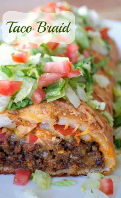 Taco Braid The Best Blog Recipes