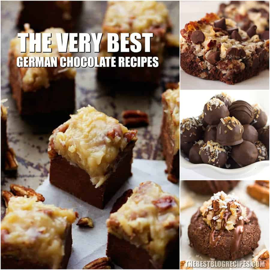 Best German Chocolate Dessert Recipes - The Best Blog Recipes