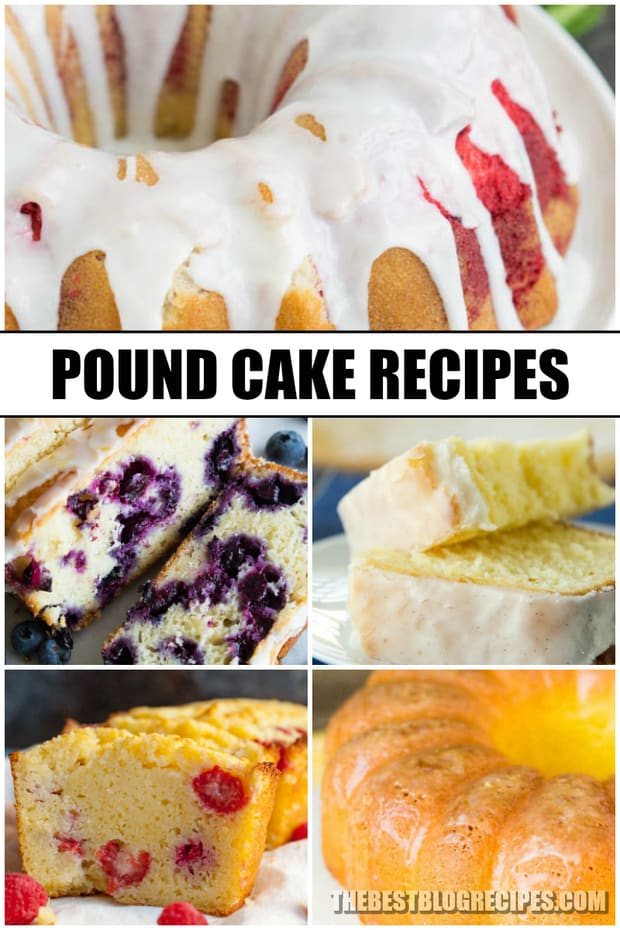 The Best Pound Cake Recipes