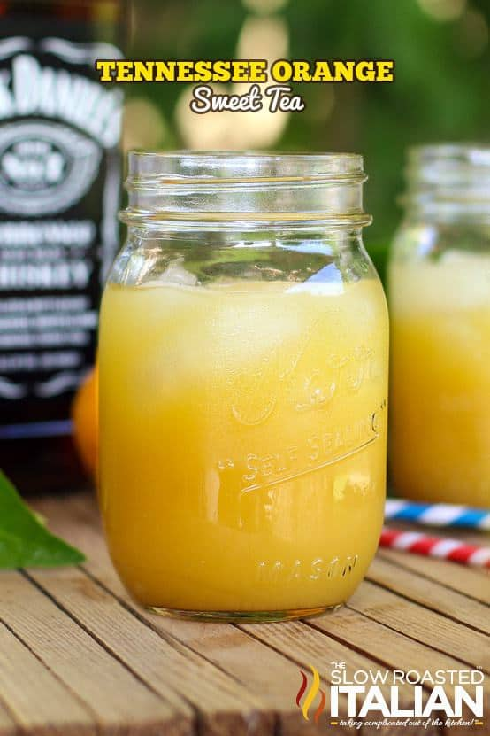 How amazing does this Sweet Tea drink look?