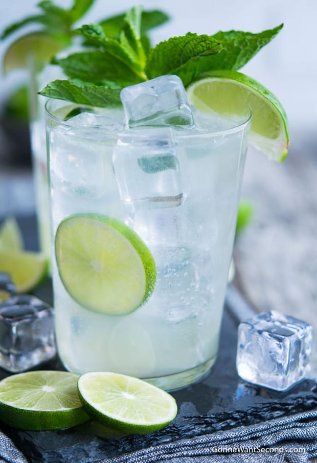 Muddle up some fun with an old-fashioned Lime Rickey, a classic vintage mocktail that's as refreshing today as it was in its soda fountain days.