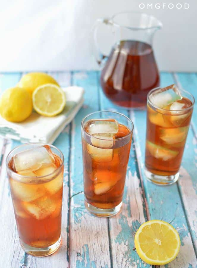 Go make some sweet iced tea! And then chill outside with a tall glass of it. Outdoors + cold beverages = boss. Don't forget to add ice!