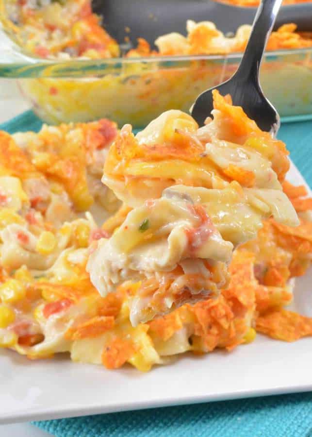 Doritos Cheesy Chicken Pasta Casserole The Best Blog Recipes