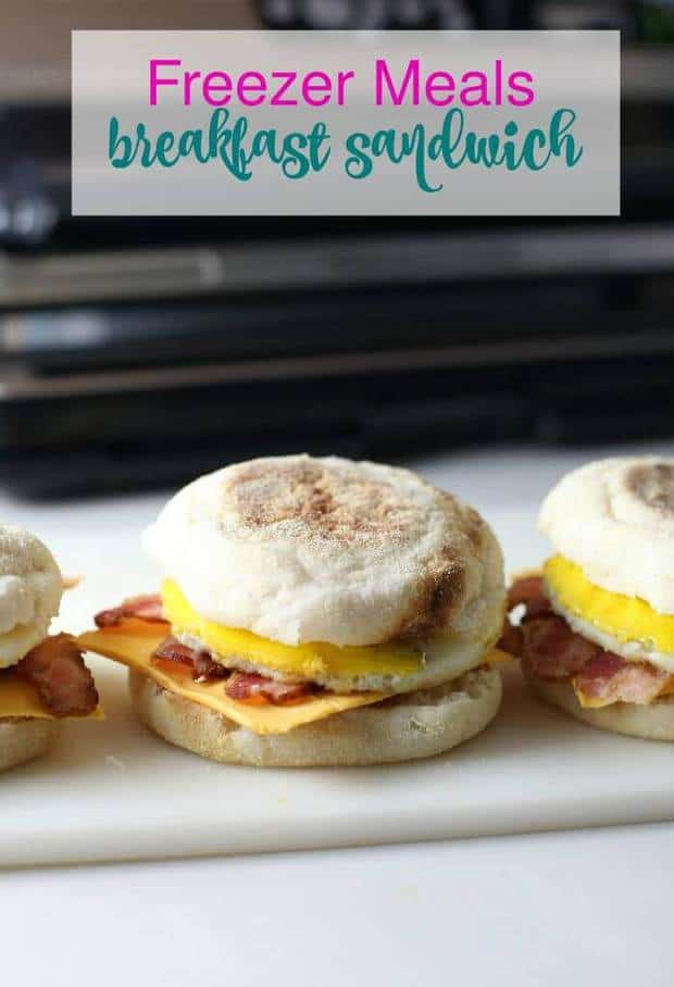 TheseFreezer Breakfast SandwichesfromThe Taylor Houseare a super easy way to make mornings a little less hectic! It's an amazing meal full of nutrition and deliciousness that your kids and spouse will LOVE!