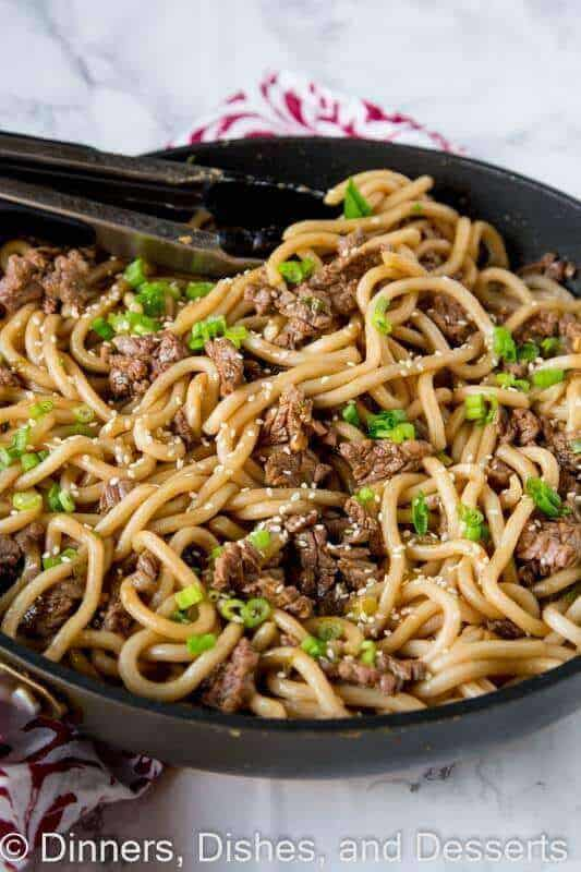 Garlic Beef Noodle Bowls The Best Blog Recipes