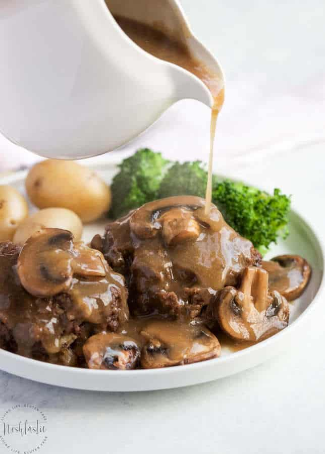 Instant Pot Salisbury Steak and Gravy