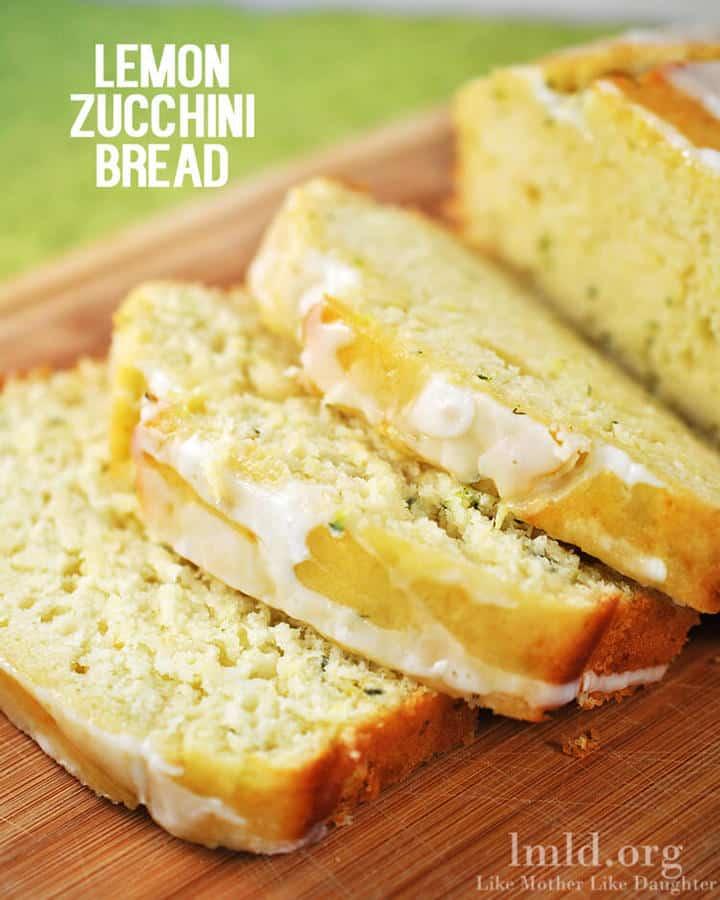 Lemon Zucchini Bread - The Best Blog Recipes