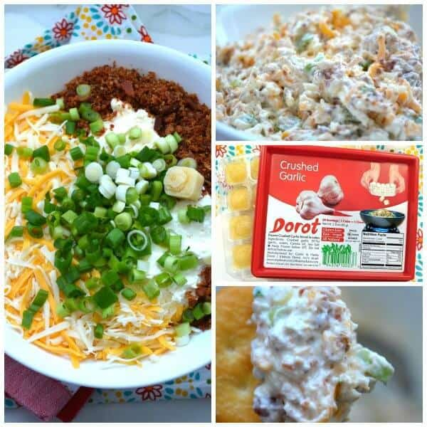 If you need a delicious and easy appetizer to make for your friends and family, then this Million Dollar Cream Cheese and Garlic Dip is the recipe for you! All you need is 5 minutes and a few ingredients to make something that everyone will LOVE! Find the kids and ask them to help... it's so simple they could even make this recipe for you! No cooking involved. Just dump, stir and go.