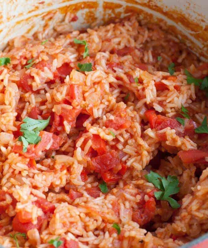 One Pot Spanish Rice
