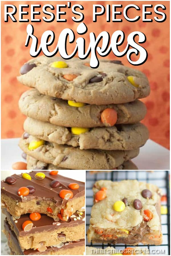 The Best Reese's Pieces Desserts are some of the most amazing recipes you will ever try. The combination of our favorite candy with traditional desserts is something that will never get old! Try these recipes when you need a no hassle dessert that everyone will love and adore!