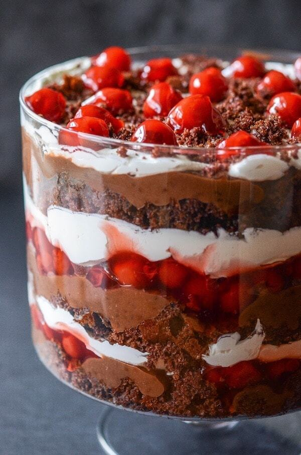 I love trifles because they are so easy to toss together and always look impressive anyways.