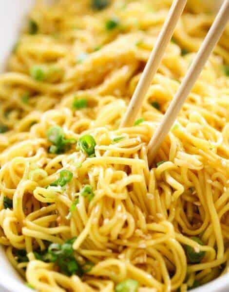 Easy Sesame Noodles - The Best Blog Recipes