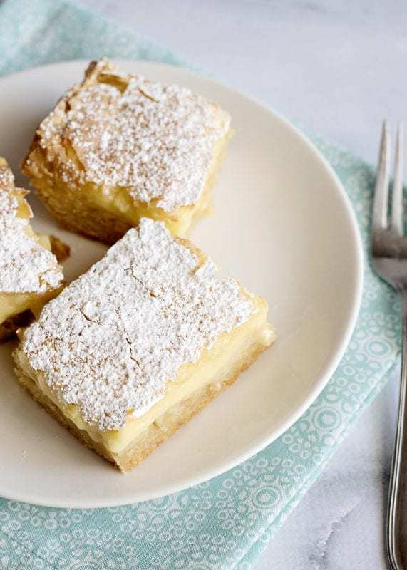 Ooey Gooey Butter Bars are the stuff of legends and that shortcut recipe has been making rounds for years. If you think those are good, you'll really flip once you try them made from scratch.
