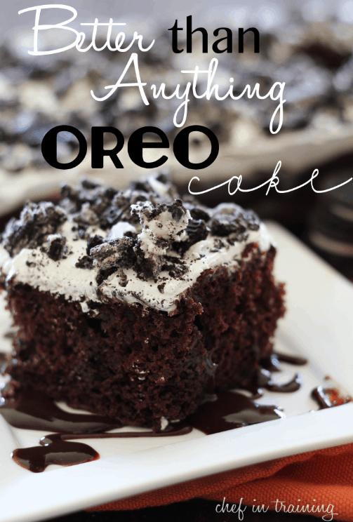 BETTER THAN ANYTHING OREO CAKE