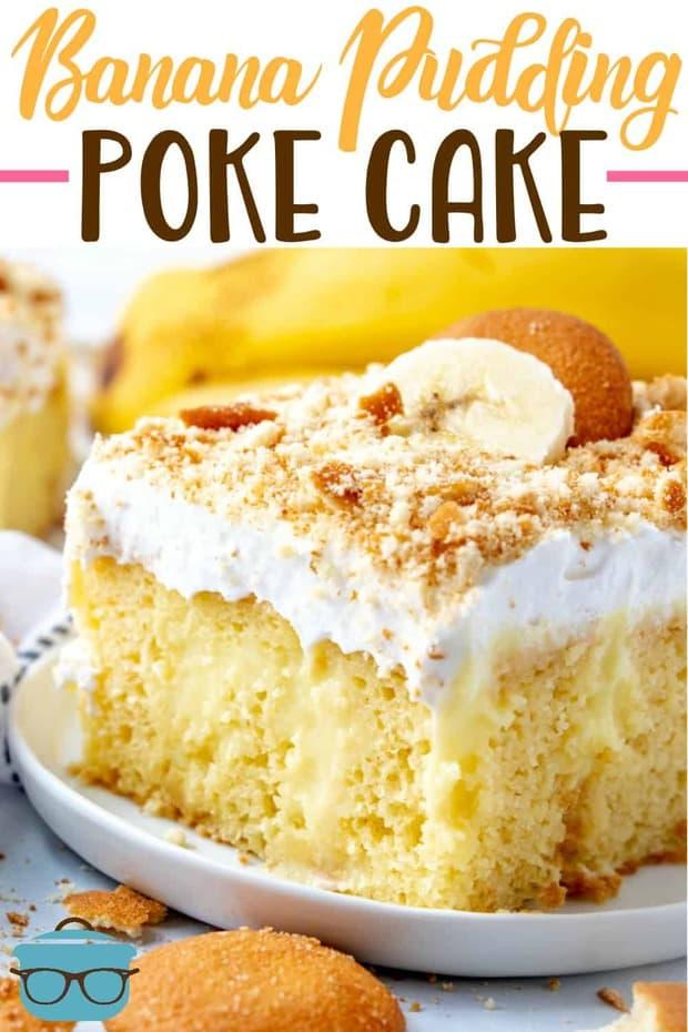 BEST BANANA PUDDING POKE CAKE