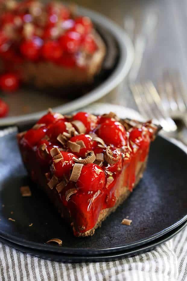 Black Forest No-Bake Cheesecake