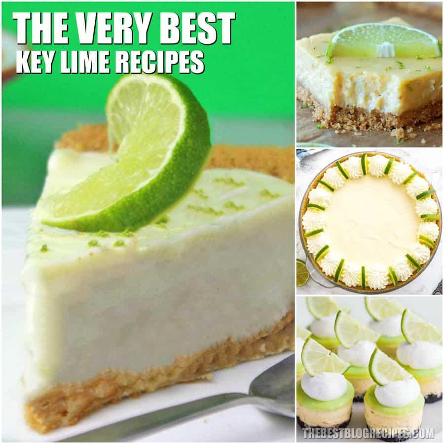 Best Key Lime Dessert Recipes