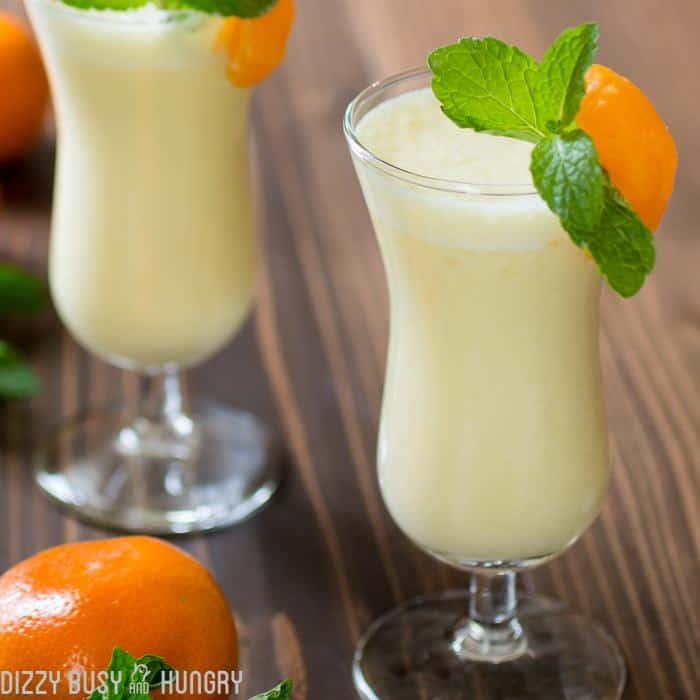 Brighten your day with this delicious and healthy Pineapple Orange Smoothie recipe, great for breakfast or anytime!