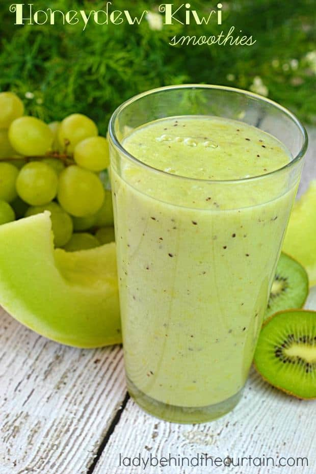 how to make a kiwi strawberry smoothie