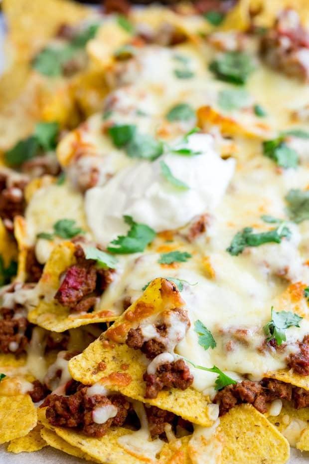 Instant Pot Cheesy Beef Nachos The Best Blog Recipes