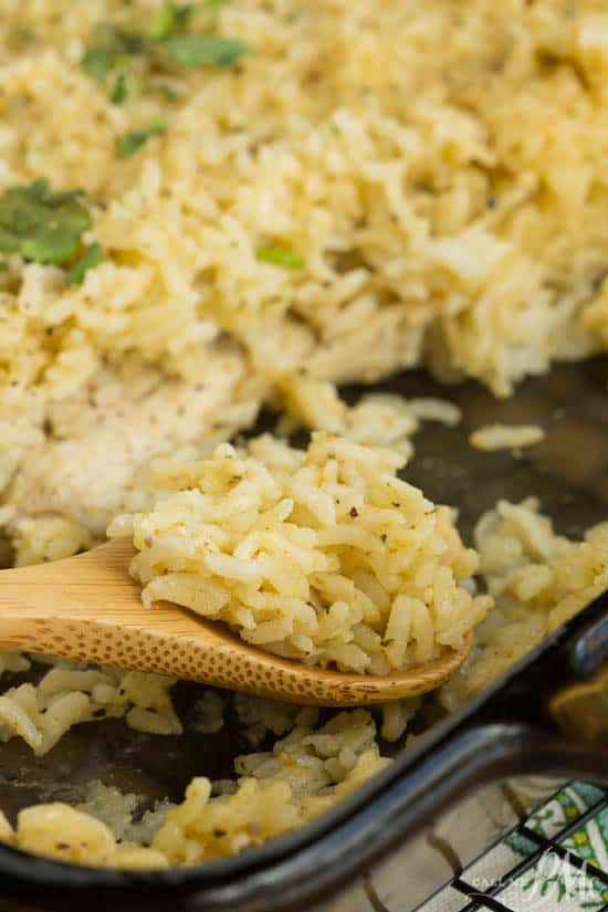 No Peek Chicken Rice Recipe