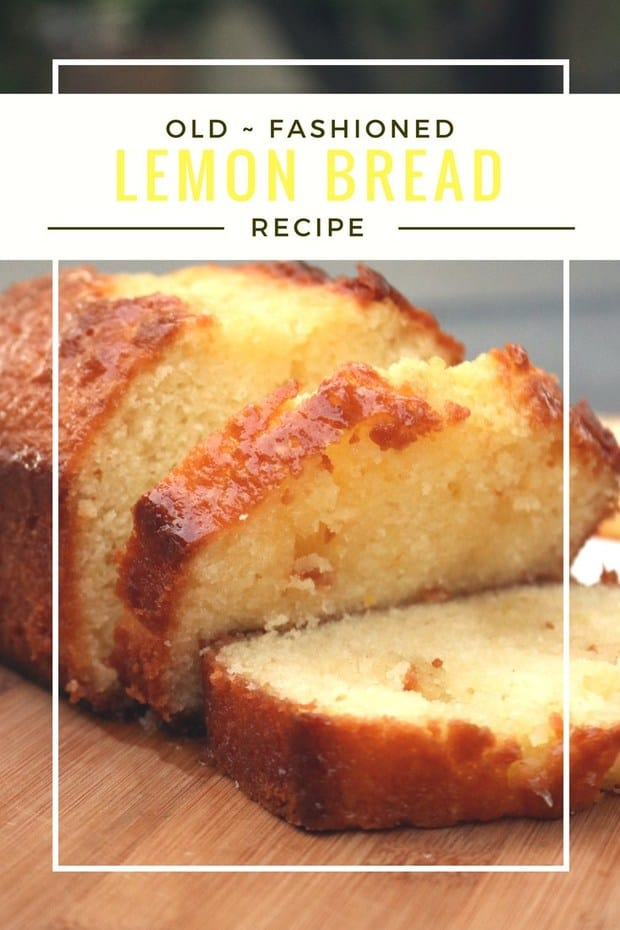 Gluten Free Lemon Bread Recipe