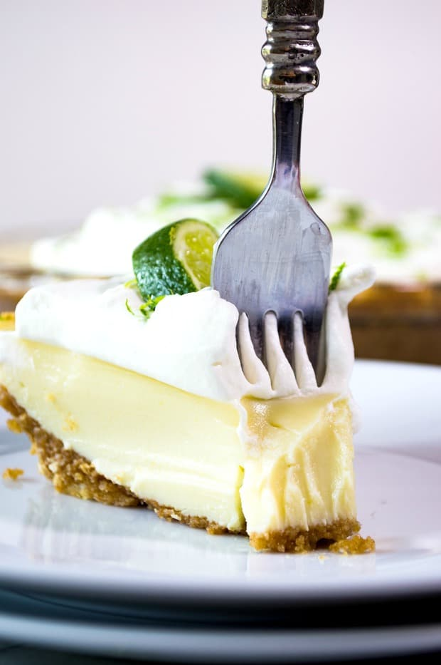 an ultra creamy lime pie laced with a hint of tequila. Only a handful of ingredients and a few minutes of your time results in amazing margarita inspired flavor!