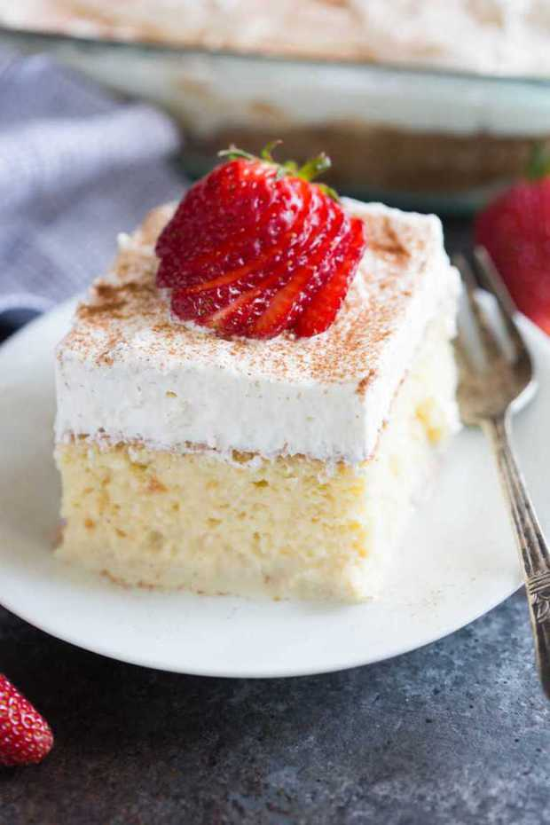 Tres Leches Cake - The Best Blog Recipes