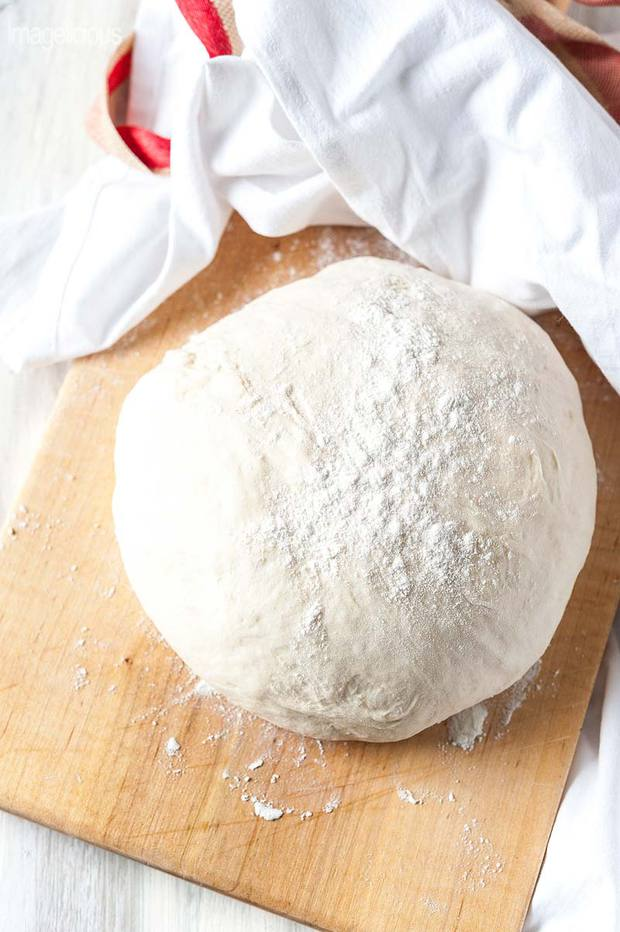 Can you leave pizza dough in the fridge overnight