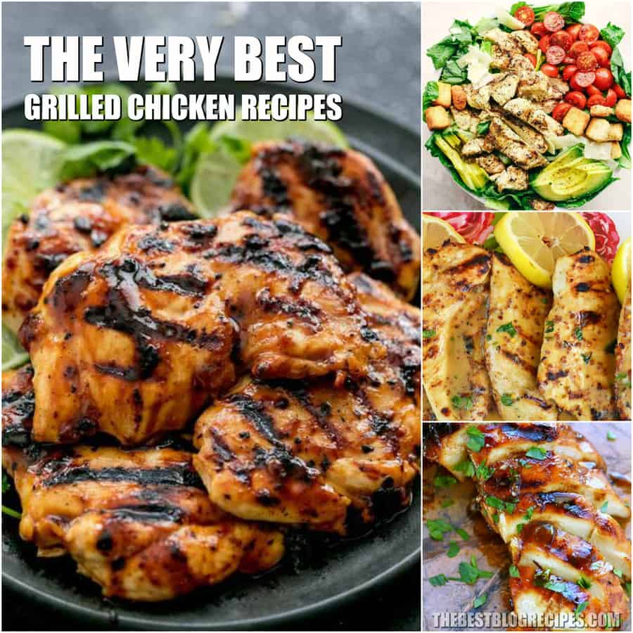 Simple Grilled Chicken Recipes