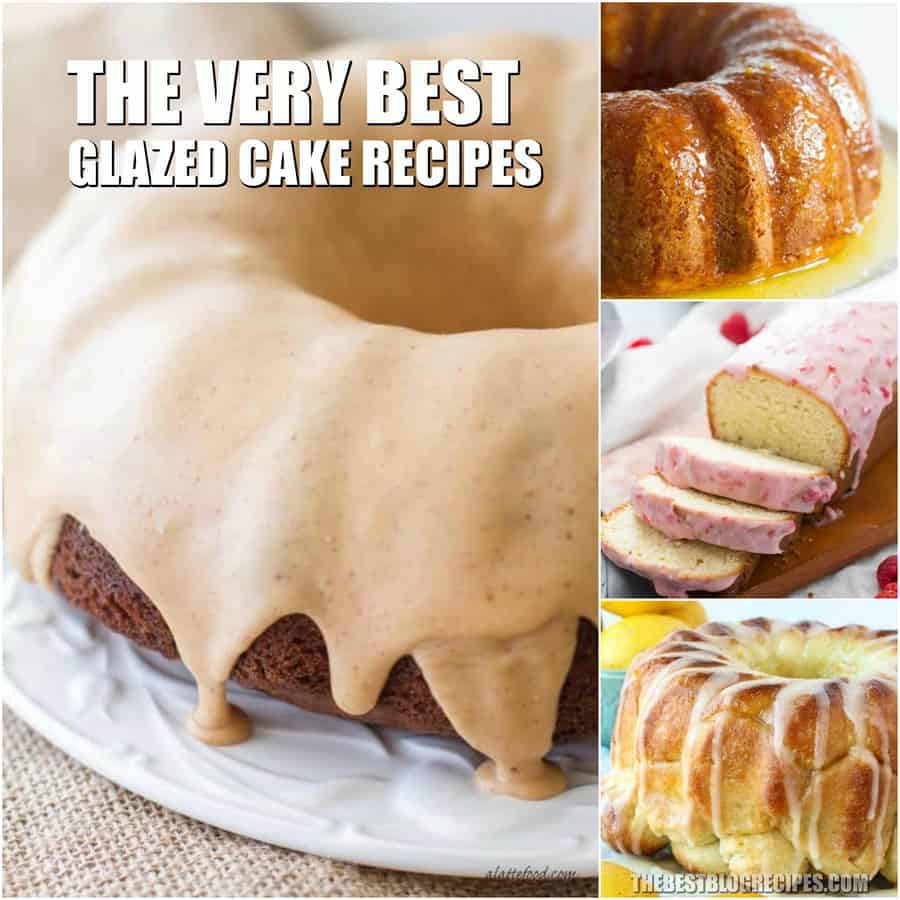 Easy Glazed Cake Recipes are the desserts that are missing in your life. You are going to love these sweet cakes that are glazed to perfection!