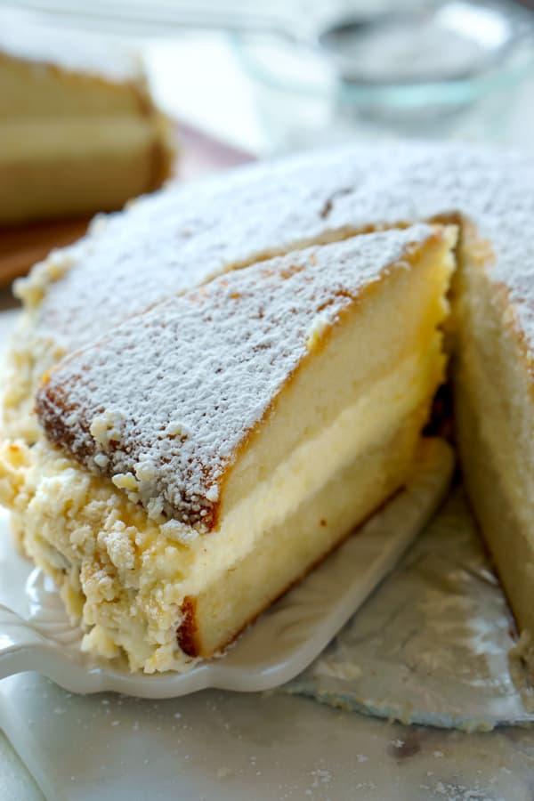 Copycat Recipe Olive Garden Lemon Cream Cake