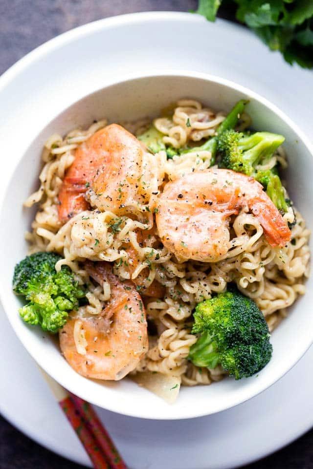 Garlic Shrimp Ramen The Best Blog Recipes