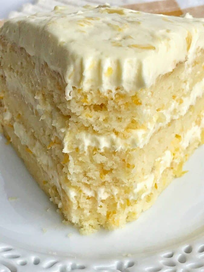 Orange Pineapple Layer Cake - The Best Blog Recipes