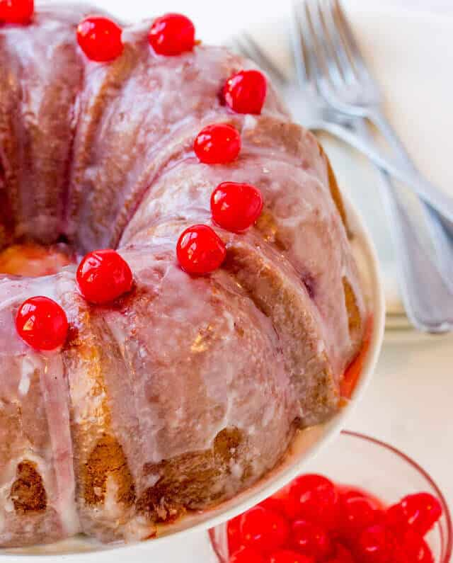 Shirley Temple Cake Recipe
