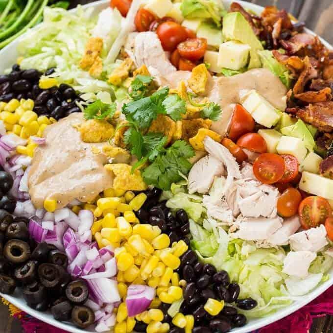 Tex Mex Cobb Salad The Best Blog Recipes