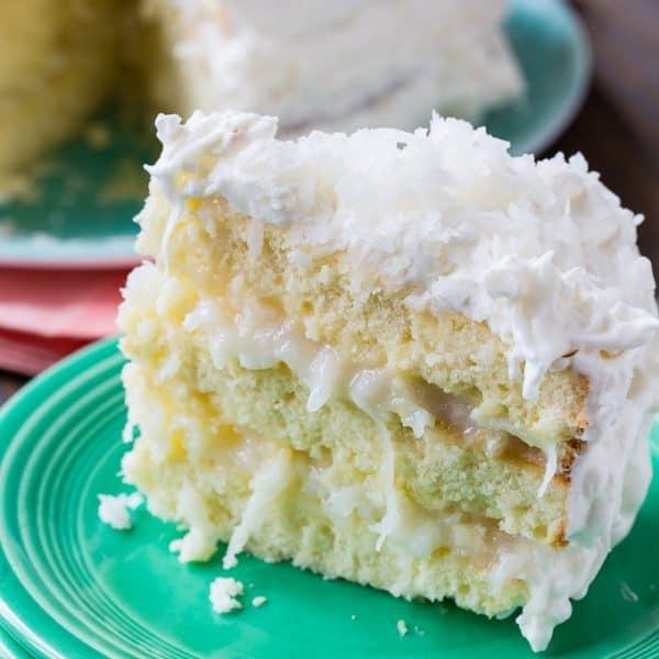 Celebration Cake Recipes: Coconut Celebration Cake