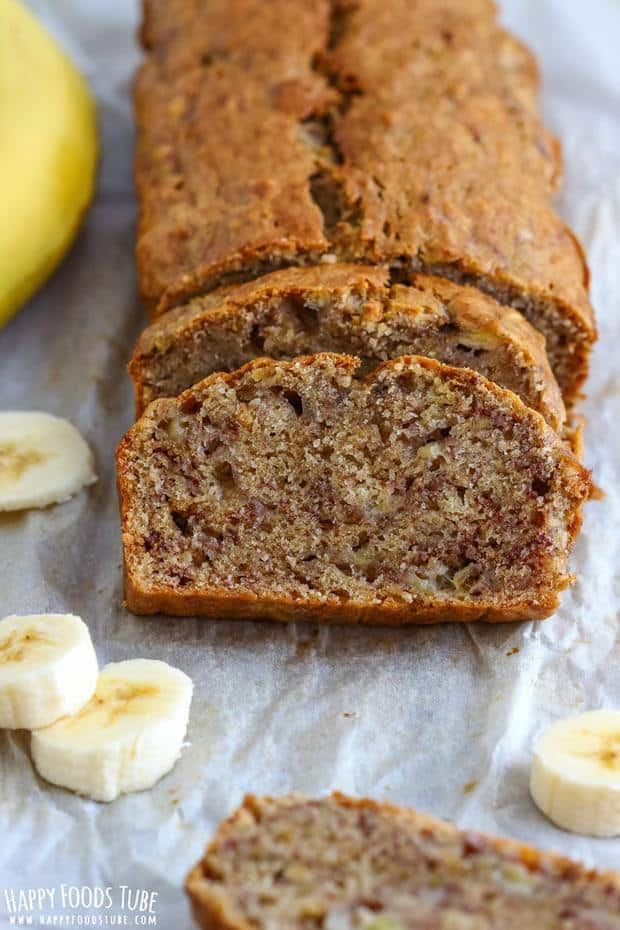 Simple homemade banana bread is the star among quick breads. Moist Banana Bread goes well with, butter, honey or jam!