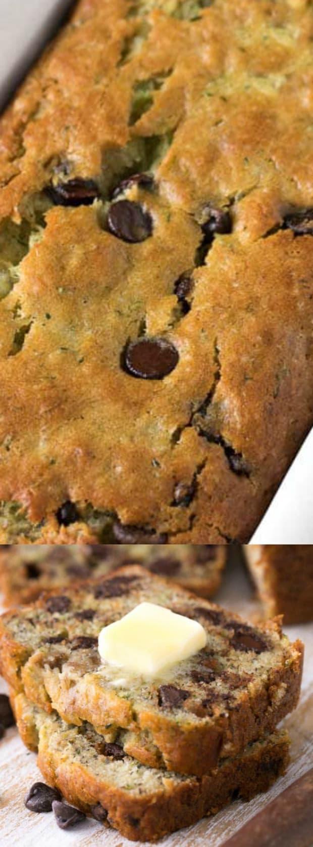 chocolate chip zucchini banana bread  the best blog recipes