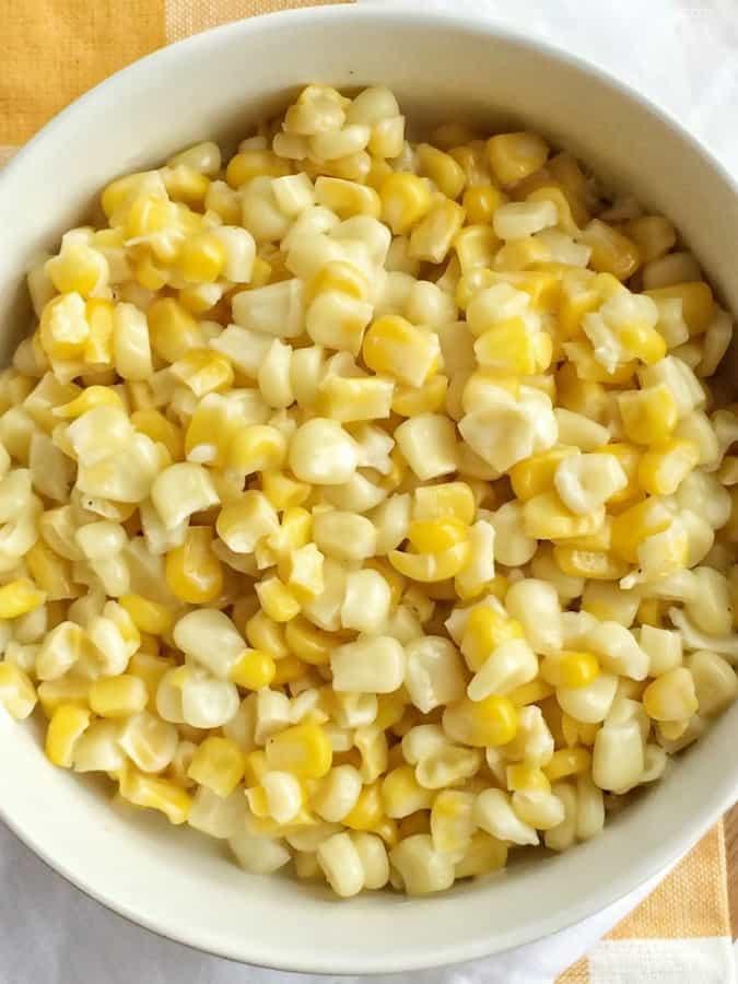 Honey Butter Creamy Skillet Corn Recipe