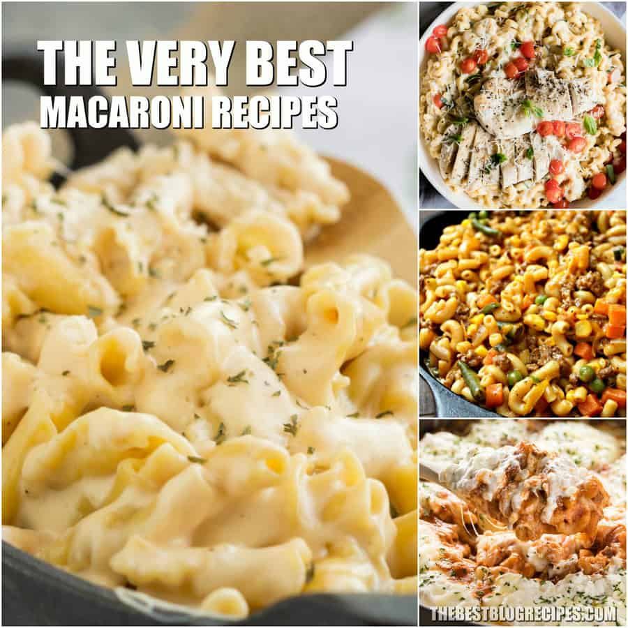 Quick and Easy Macaroni Recipes