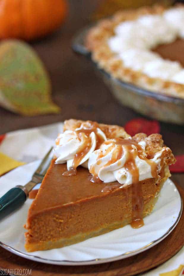 Dulce De Leche Pumpkin Pie - The Best Blog Recipes