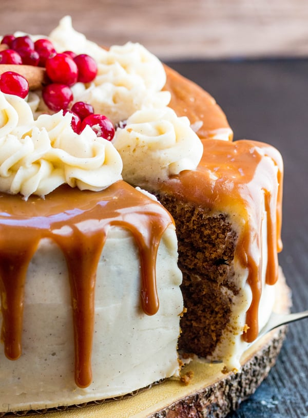 How To Drizzle Caramel On A Cake