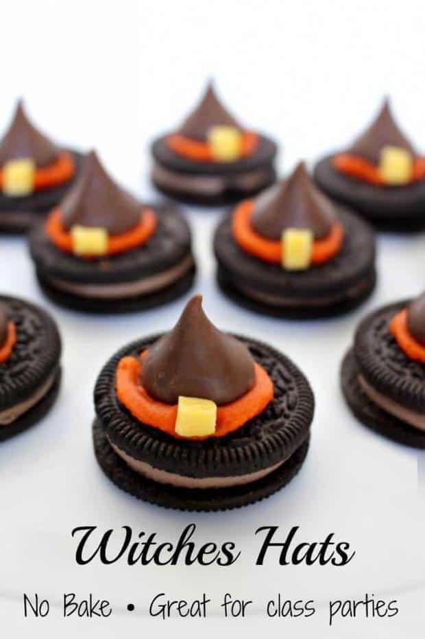 Halloween Witch Hat Cookies Recipe